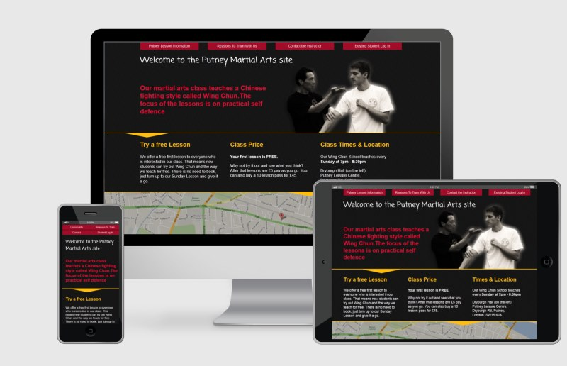 new Wing Chun site